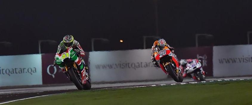 Aleix Espargaró, a por faena. Foto: MotoGP