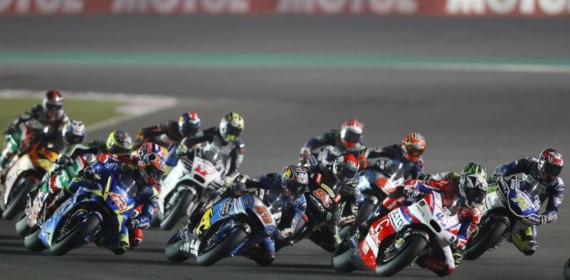 Rins (42) observa la situación desde una perspectiva exterior. Foto: MotoGP