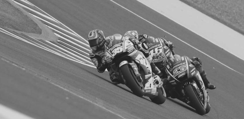 Pundonor Crutchlow salvando la jeta de HRC. Foto: MotoGP