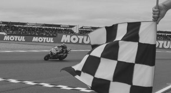 Maverick, muy champion. Foto: MotoGP