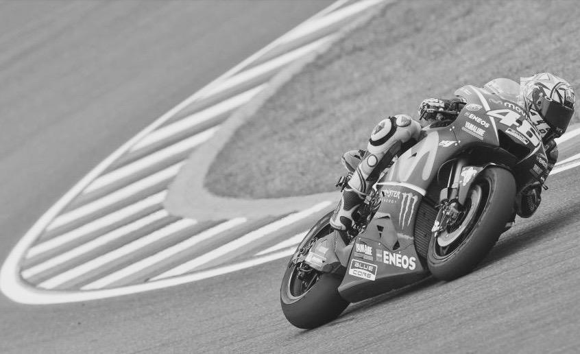 Rossi, podios y no caer. Foto: MotoGP