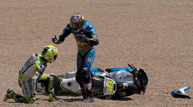 Miller, de malas. Foto: MotoGP
