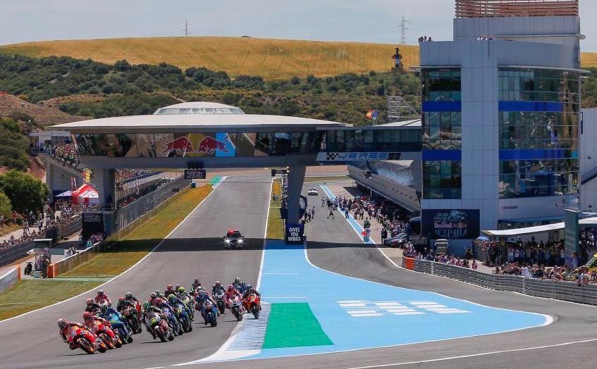 Un domingo cualquiera. Foto: MotoGP
