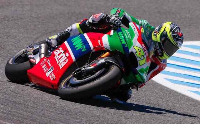 Aleix, en el top 10 cuando termina. Foto: MotoGP