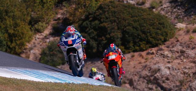 KTM ya lucha con otras motos. Foto: MotoGP