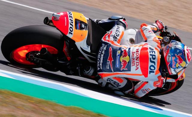 Dani Pedrosa, vencedor del GP de España 2017 Foto: MotoGP