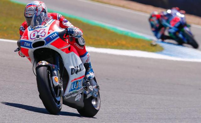 Las Yamaha oficiales no pudieron con las Ducati. Foto: MotoGP