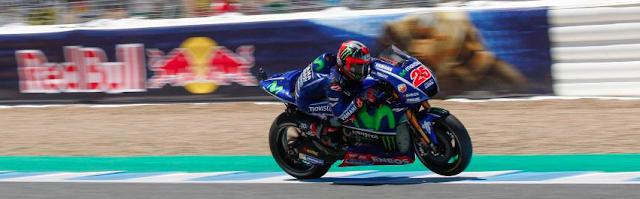 Viñales fue de más a menos. Foto: MotoGP