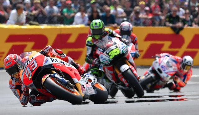 La chicane. Foto: MotoGP