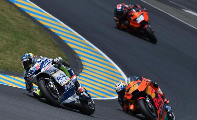 Puntuaron todos. Foto: MotoGP