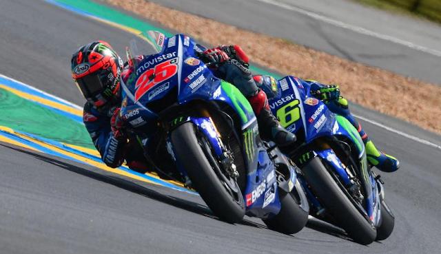 El equipo Movistar Yamaha MotoGP está muy en forma. Foto: MotoGP