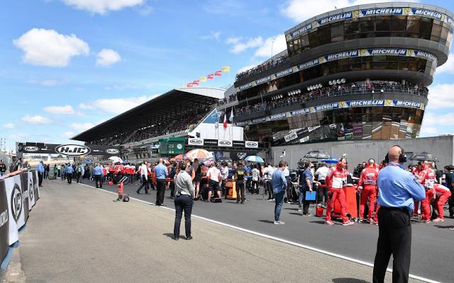 El asfalto nuevo de Le Mans, magnífico. Foto: MotoGP
