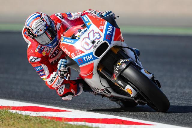 7 días, 2 victorias. DesmoDovi lo peta. Foto: MotoGP