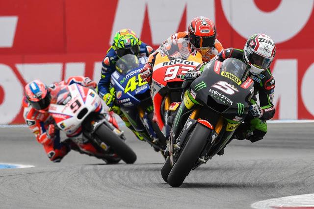 Abanico de posibilidades en los primeros compases. Foto: MotoGP