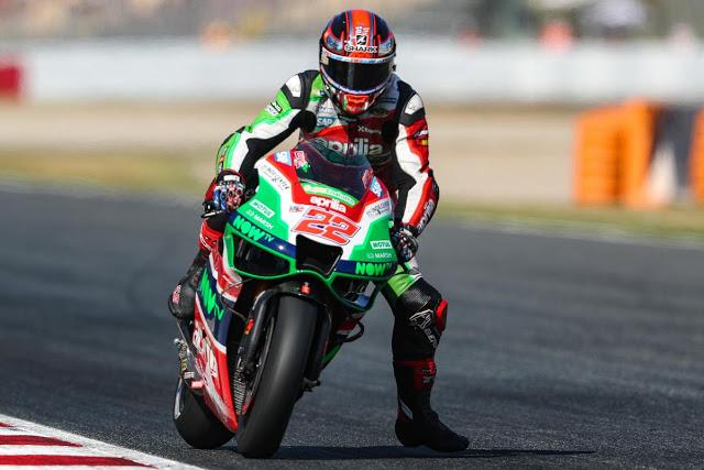 Si Lowes hubiese mantenido su ritmo de FP4 (fue 21º), habría podido ganar la carrera. Foto: MotoGP
