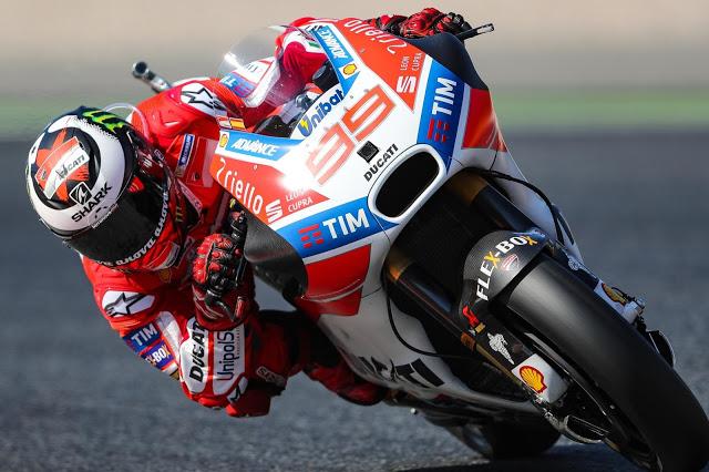 Carrera yo-yo de Lorenzo (2-1-8-4). Foto: MotoGP