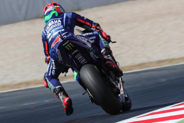 Viñales no rodó cómodo en todo el fin de semana. Foto: MotoGP