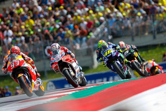 Marc amaneció el domingo como favorito. Foto: MotoGP