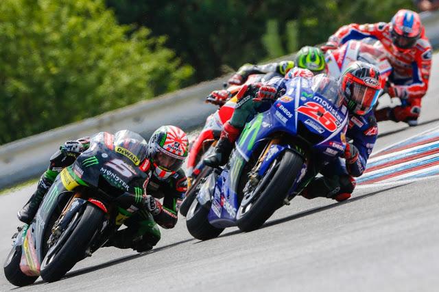Maverick salió bien parado. Foto: MotoGP