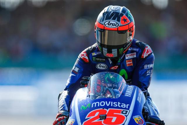 Maverick, ya más cerca. Foto: MotoGP