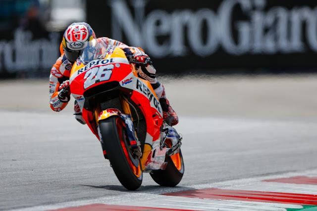 Dani sigue 5º en el mundial, pero ya más cerca. Foto: MotoGP