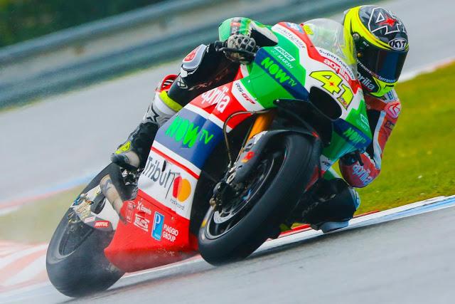 Aleix se mostró competitivo en los primeros compases. Foto: MotoGP