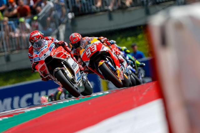 Jorge (4º) lideró más de diez vueltas. Foto: MotoGP