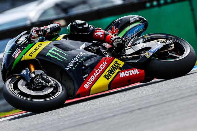 """""""Te pliegas más que un Folger"""" Foto: MotoGP"""