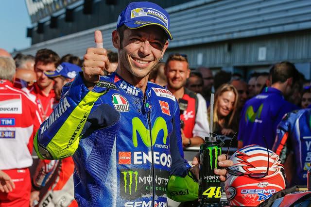 Escocido, pero contento. Foto: MotoGP