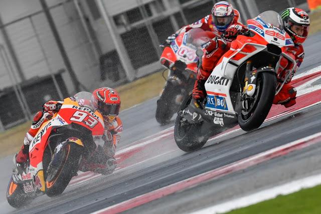 Jorge comenzó liderando la prueba. Foto: MotoGP