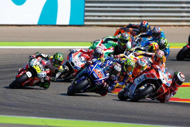 Salida al uso de Jorge. Foto: MotoGP