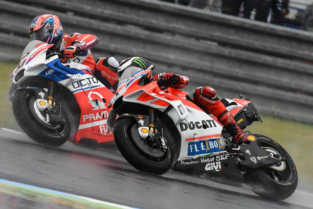Petrucci lideró 9 vueltas. Foto: MotoGP