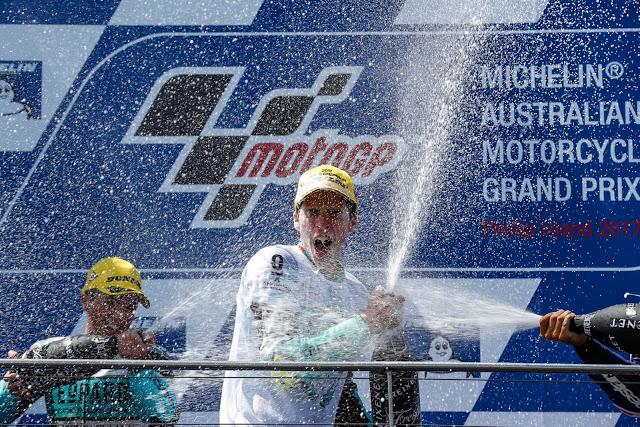Joan Mir, Campeón del Mundo. Foto: MotoGP