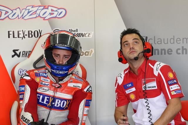 Se lo veía venir. Foto: MotoGP