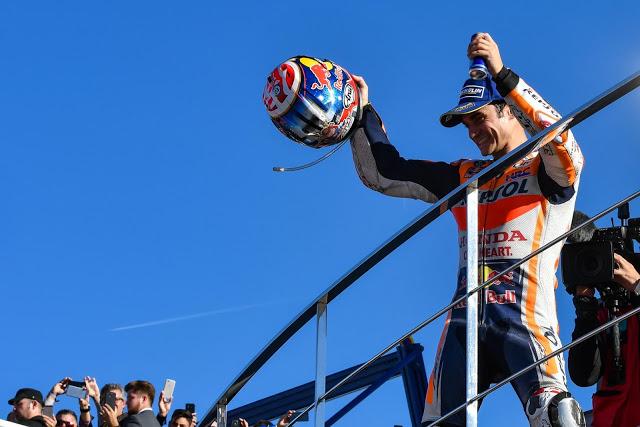 Dani, ganador en Valencia: Foto: MotoGP