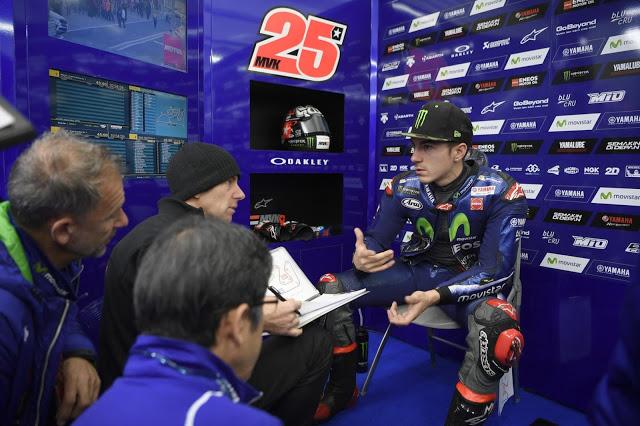 No hay muchas risas en Yamaha. Foto: MotoGP