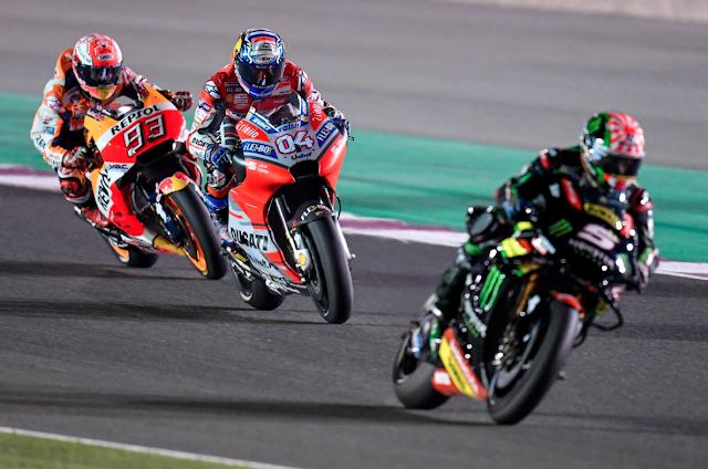 Ya lo tenían madurito. Foto: MotoGP