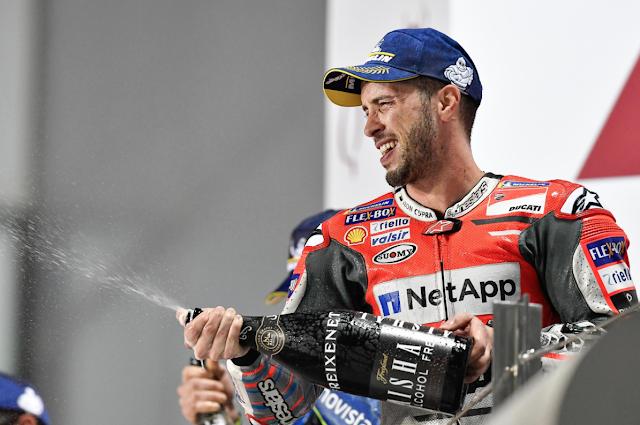 Empezamos con inyección de moral. Foto: MotoGP