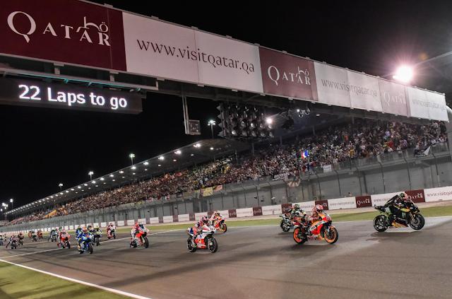 Empieza lo bueno. Foto: MotoGP