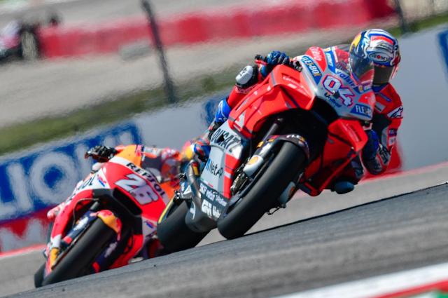 Buena carrera para Dovi y para Dani. Foto: MotoGP