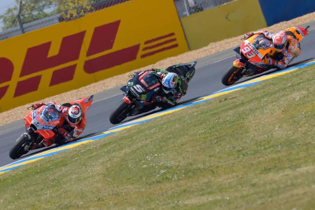 Lorenzo encabezó nueve vueltas. Foto: MotoGP