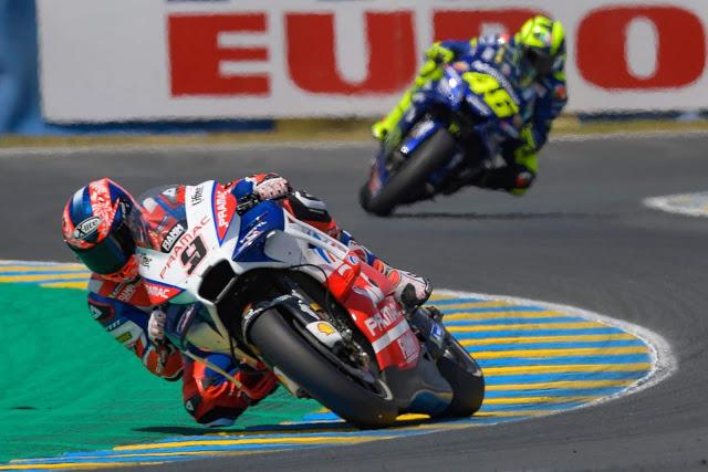 El 2º le viene a Petrucci como anillo al dedo. Foto: MotoGP