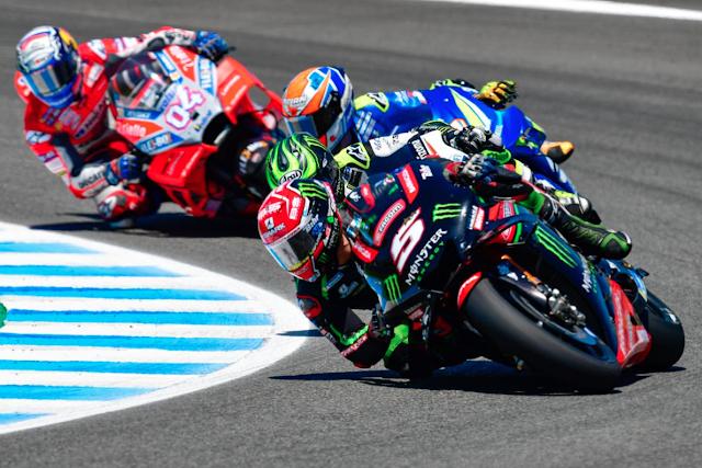 2º en carrera, 2º en la provisional. Foto: MotoGP