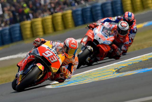 Las Honda estrenaron carenado alado. Foto: MotoGP