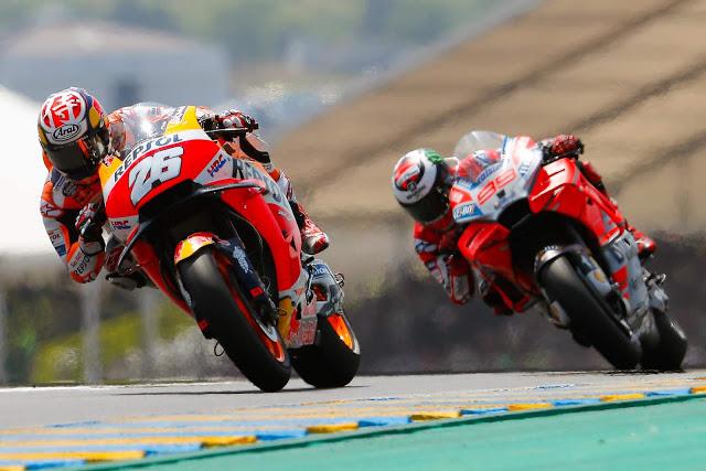 Pedrosa pudo superar a Lorenzo para ser 5º. Foto: MotoGP