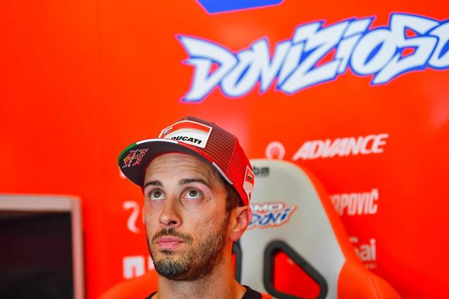 La carusa de Dovi. Foto: MotoGP
