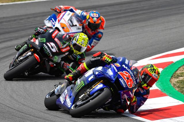 Viñales, mejor posición que actitud. Foto: MotoGP