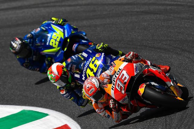 Márquez fue a por lana y salió trasquilado. Foto: MotoGP
