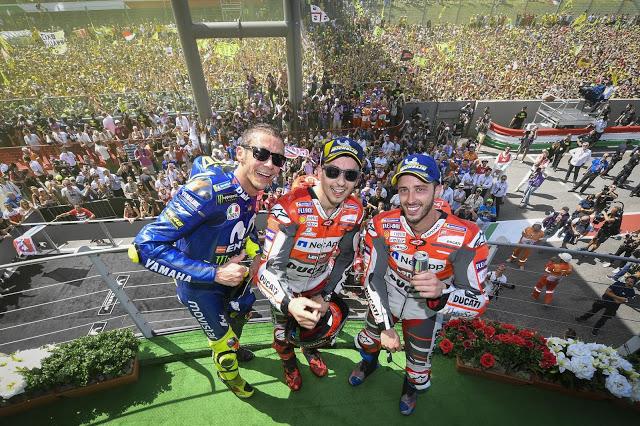 Mugello, espectacular. Foto: MotoGP