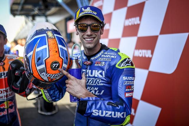 Rins, primer segundo. A por más. Foto: MotoGP